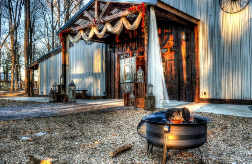 Main Entrance at Always & Forever Wedding Barn & Events